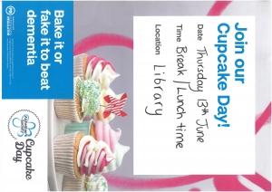 Cupcake day – Thursday 13th June 2019