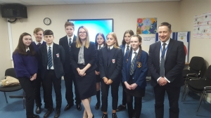 Education Secretary Visits School to Launch Welsh Government's policy Consultation on Anti-bullying