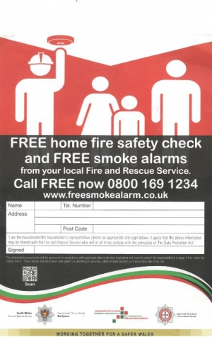 Free home fire safety check!!!
