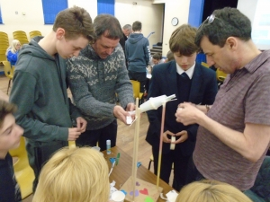 STEM Family event with Engineering Design Technology