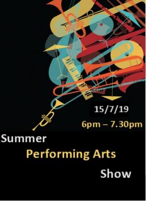 Summer performing arts show