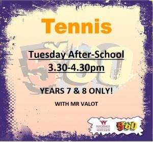 Tennis Club.