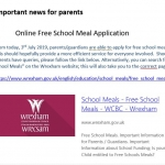 Important news for parents