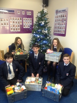Trussel Trust Food Bank + Salvation Army Christmas Gift Appeal.
