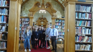 Year 9 and 11 pupils Aim Higher at Bangor University