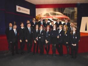 Ysgol y Grango students visit Vauxhall!