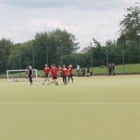 Staff football match.